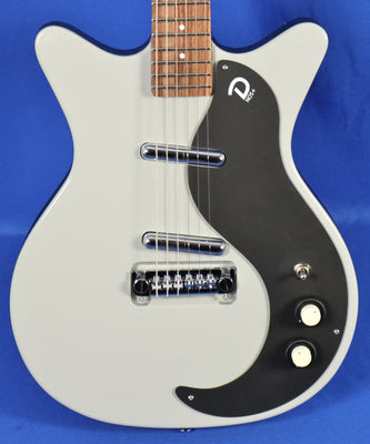 Danelectro 59M Mod NOS+ Ice Gray Electric Guitar
