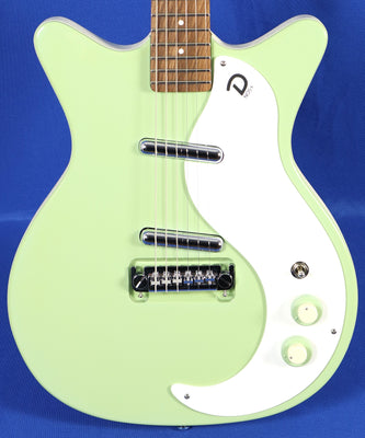 Danelectro 59M Mod NOS+ Keen Green Electric Guitar