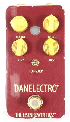 Danelectro The Eisenhower Fuzz Octave Electric Guitar Effect Effects Pedal