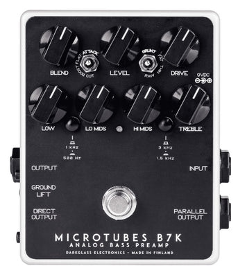 Darkglass Electronics Microtubes B7K V2 Bass Guitar Overdrive Pedal