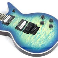 Dean Cadillac Select Floyd Quilt Top Ocean Burst Electric Guitar