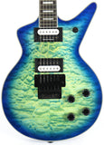 Dean Cadillac Cadi Select Floyd Quilt Top Ocean Burst Electric Guitar