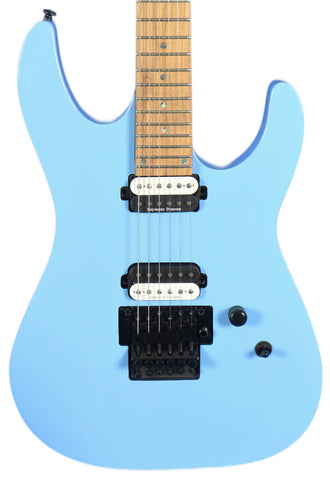 Dean Modern MD24 Roasted Maple Vintage Blue Floyd Rose Electric Guitar