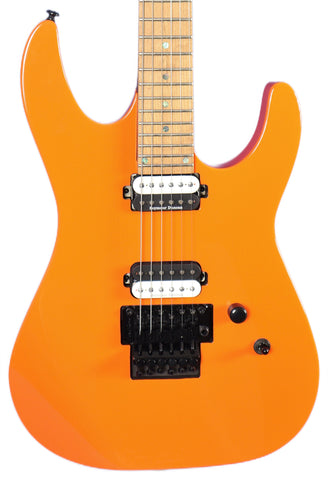 Dean Modern MD24 Roasted Maple Vintage Orange Floyd Rose Electric Guitar