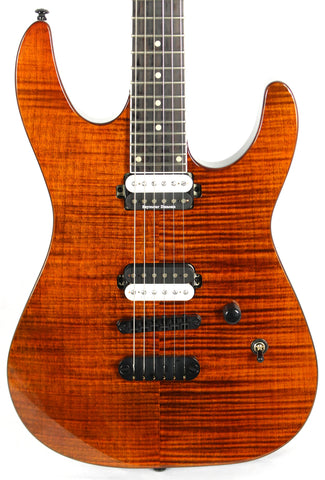 Dean Modern 24 Select Flame Top Tiger Eye Electric Guitar