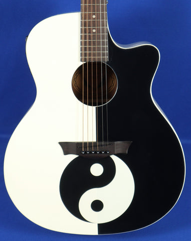 Dean Michael Schenker Performer Yin-Yang Acoustic Electric Guitar