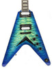 Dean Select V Quilt Top Ocean Burst Flying V Electric Guitar