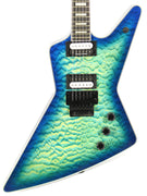 Dean Z Select Floyd Quilt Top Ocean Burst Electric Guitar