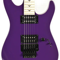 Dean Zone II Purple Electric Guitar w/ Floyd Rose Reverse Headstock