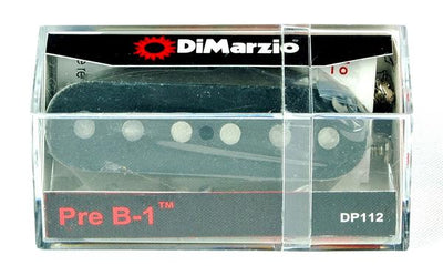 DiMarzio DP112 Pre B1 Telecaster Bridge Single Coil Pickup - Black