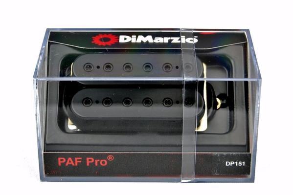 DiMarzio DP151 PAF Pro Humbucking Electric Guitar Pickup - Black