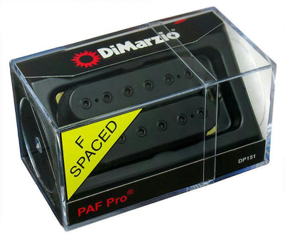 DiMarzio DP151-FBK PAF Pro Humbucking Electric Guitar Pickup Black