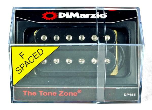 dimarzio dp155 the tone zone f spaced humbucker guitar pickup black all music inc. Black Bedroom Furniture Sets. Home Design Ideas