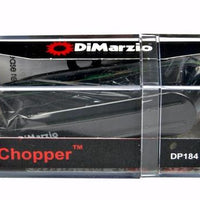 DiMarzio DP184 The Chopper Humbucking Strat Stacked Single Coil Guitar Pickup Black