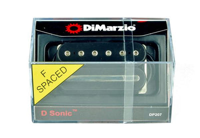 DiMarzio DP207 D-Sonic F-Spaced Humbucker Guitar Bridge Pickup Black