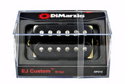 DiMarzio DP212 EJ Custom Eric Johnson Humbucker Electric Guitar Bridge Pickup Black