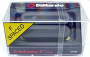 DiMarzio DP222 D-Activator X Humbucker F-Spaced Guitar Bridge Pickup