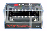 DiMarzio DP223 PAF 36th Anniversary Humbucker Guitar Bridge Pickup - Black
