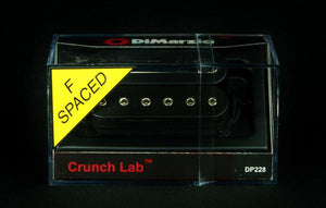 DiMarzio DP228 Crunch Lab F-Spaced Humbucker Guitar Bridge Pickup Black