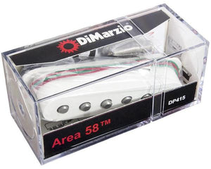 DiMarzio DP415 Area 58 Stratocaster Electric Guitar Hum Canceling Single Coil Pickup