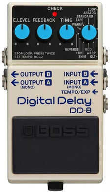 Boss DD-8 Stereo Digital Delay Electric Guitar Effect Effects Pedal
