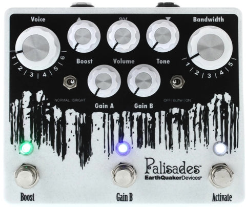 EarthQuaker Devices Palisades V2 Mega Ultimate Overdrive Guitar Effects Pedal