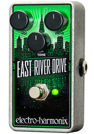 Electro-Harmonix EHX East River Drive Overdrive Electric Guitar Effects Pedal