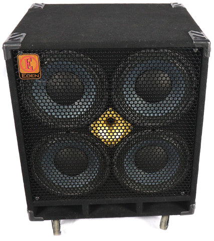 Eden D410-XST 1000w 4 ohm Electric Bass Guitar Amplifier Amp Speaker Cabinet Cab