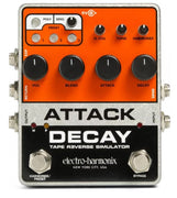Electro-Harmonix EHX Attack Decay Tape Reverse Electric Guitar Effect Pedal
