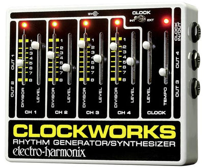 Electro-Harmonix EHX Clockworks Rhythm Generator Synthesizer Effects Pedal