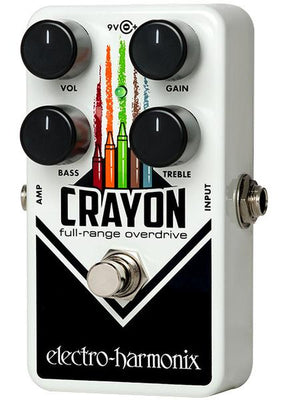 Electro-Harmonix EHX Crayon 69 Full-Range Overdrive Electric Guitar Effects Pedal