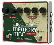 Electro-Harmonix EHX USA Deluxe Memory Man 550 Tap Tempo Electric Guitar Delay Effect Pedal
