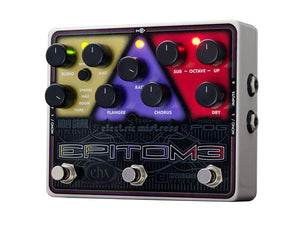 Electro-Harmonix EHX USA Epitome RGB Electric Guitar Multi-Effects Effect Pedal