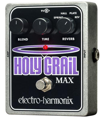 Electro-Harmonix EHX Holy Grail Max Reverb Electric Guitar Effect Effects Pedal