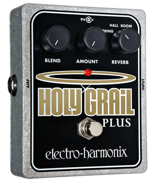 Electro-Harmonix EHX USA Holy Grail Plus Reverb Electric Guitar Effects Pedal