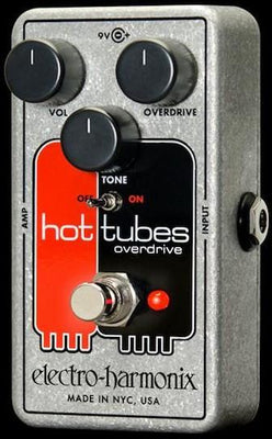Electro-Harmonix EHX Hot Tubes Nano Overdrive Electric Guitar Overdrive Pedal