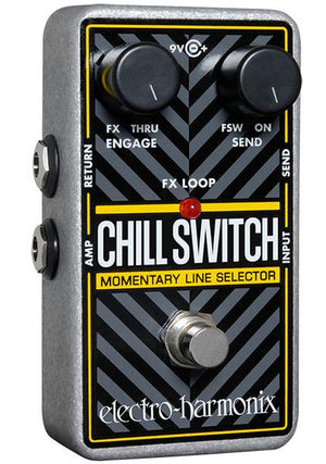 Electro-Harmonix EHX Nano ChillSwitch Momentary Line Selector Guitar Pedal