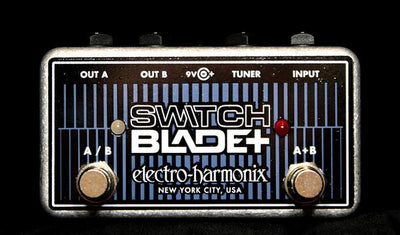 Electro-Harmonix EHX Switchblade Plus + ABY Box Electric Guitar Effect Pedal