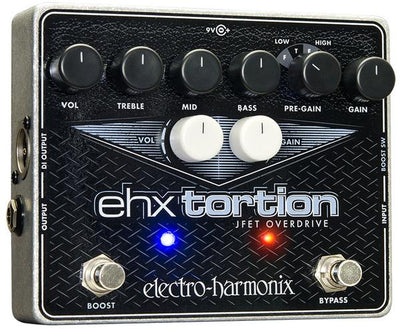 Electro-Harmonix EHX USA Tortion JFET Overdrive Distortion Guitar Effect Pedal