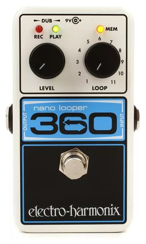 Electro-Harmonix EHX Nano Looper 360 Electric Guitar Loop Effect Effects Pedal