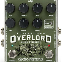 Electro-Harmonix EHX Operation Overlord Overdrive Electric Guitar Effect Pedal