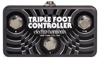 Electro-Harmonix EHX Triple Foot Controller Remote Footswitch Pedal TRI-CNTLR