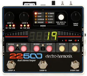 Electro Harmonix 22500 Dual Stereo Looper Effects Pedal