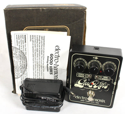 Electro Harmonix EHX Good Vibes Analog Modulator Guitar Effects Pedal