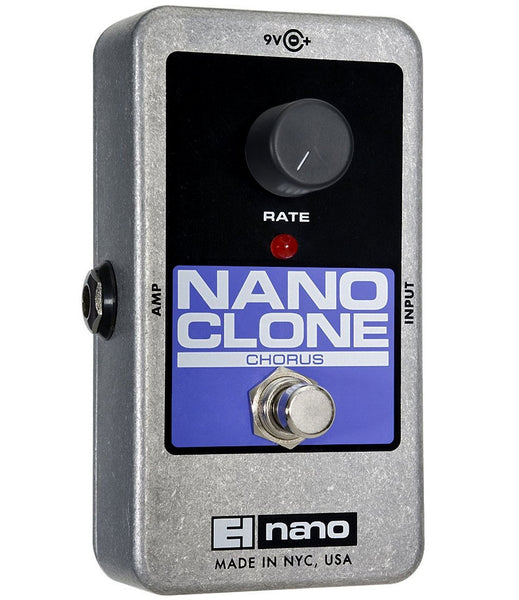 Electro Harmonix EHX Nano Clone Analog Chorus Electric Guitar Effects Pedal