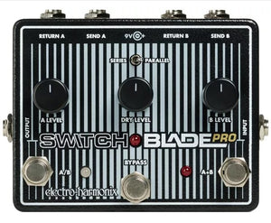 Electro-Harmonix EHX Switchblade Pro Active Channel Selector ABY Switch Pedal