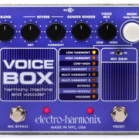 Electro-Harmonix EHX Voice Box Vocal Harmony Vocoder Guitar Effect Pedal