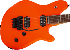 EVH Van Halen Wolfgang WG Standard Neon Orange Electric Guitar w/ Floyd Rose