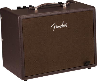 Fender Acoustic Junior 100w Dark Brown Acoustic Guitar Amplifier Amp w/ DSP
