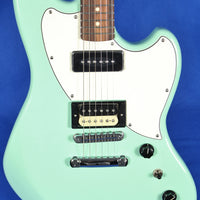 Fender Alternate Reality Powercaster Surf Green Electric Guitar